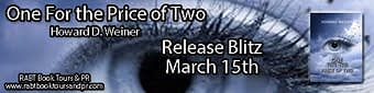 Release Blitz & GIVEAWAY // One For the Price of Two by Howard D. Weiner