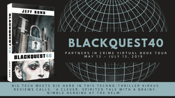 The banner image for the Blackquest 40 book tour