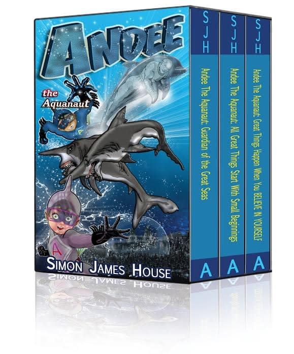 Andee the Aquanaut Triology Book Cover