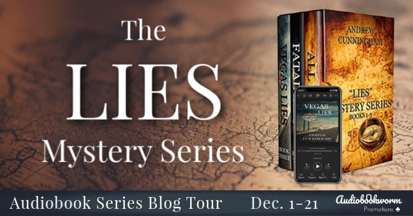 The Lies Mystery Series Banner