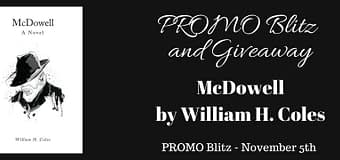 Promo Blitz // McDowell by William H. Coles *GIVEAWAY*