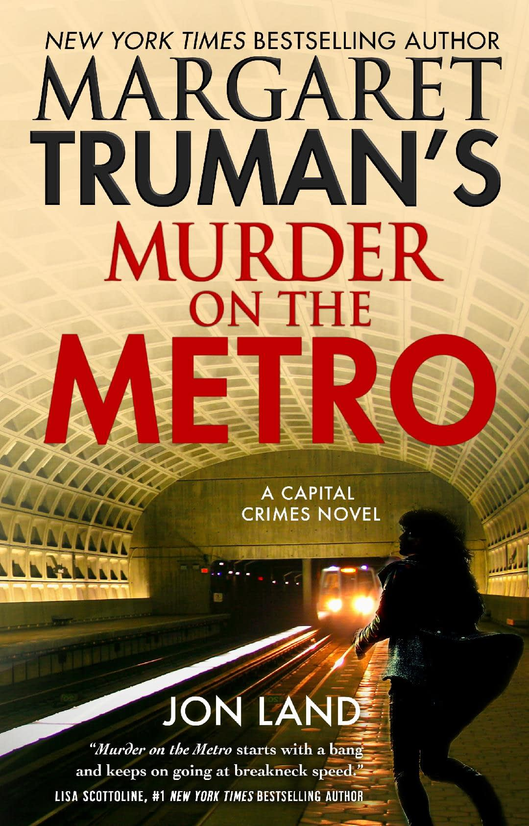 Murder On The Metro Book Cover