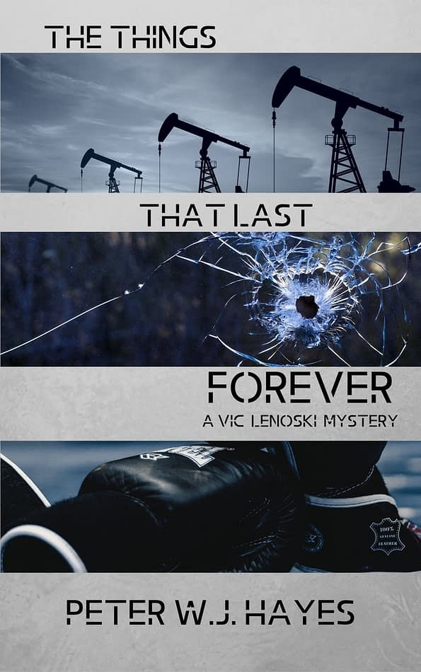 The Things That Last Forever by Author Peter W. J. Hayes Book Cover