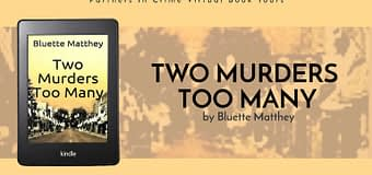 Excerpt & *GIVEAWAY* // Two Murders Too Many by Bluette Matthey