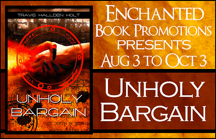 Unholy Bargain by Travis Holt Banner