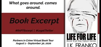Excerpt & *GIVEAWAY* // Life For Life by J.K. Franko