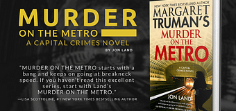 Excerpt & *GIVEAWAY* // Murder On The Metro by Jon Land