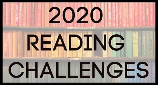 Banner for 2020 Reading Challenges