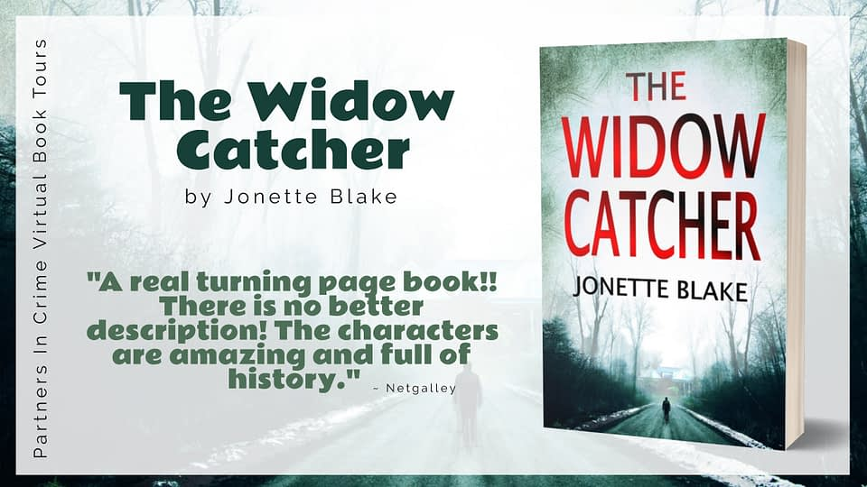 The Widow Catcher by Author Jonette Blake Tour Banner