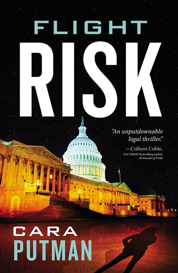 Flight Risk Image, by Author Cara Putman