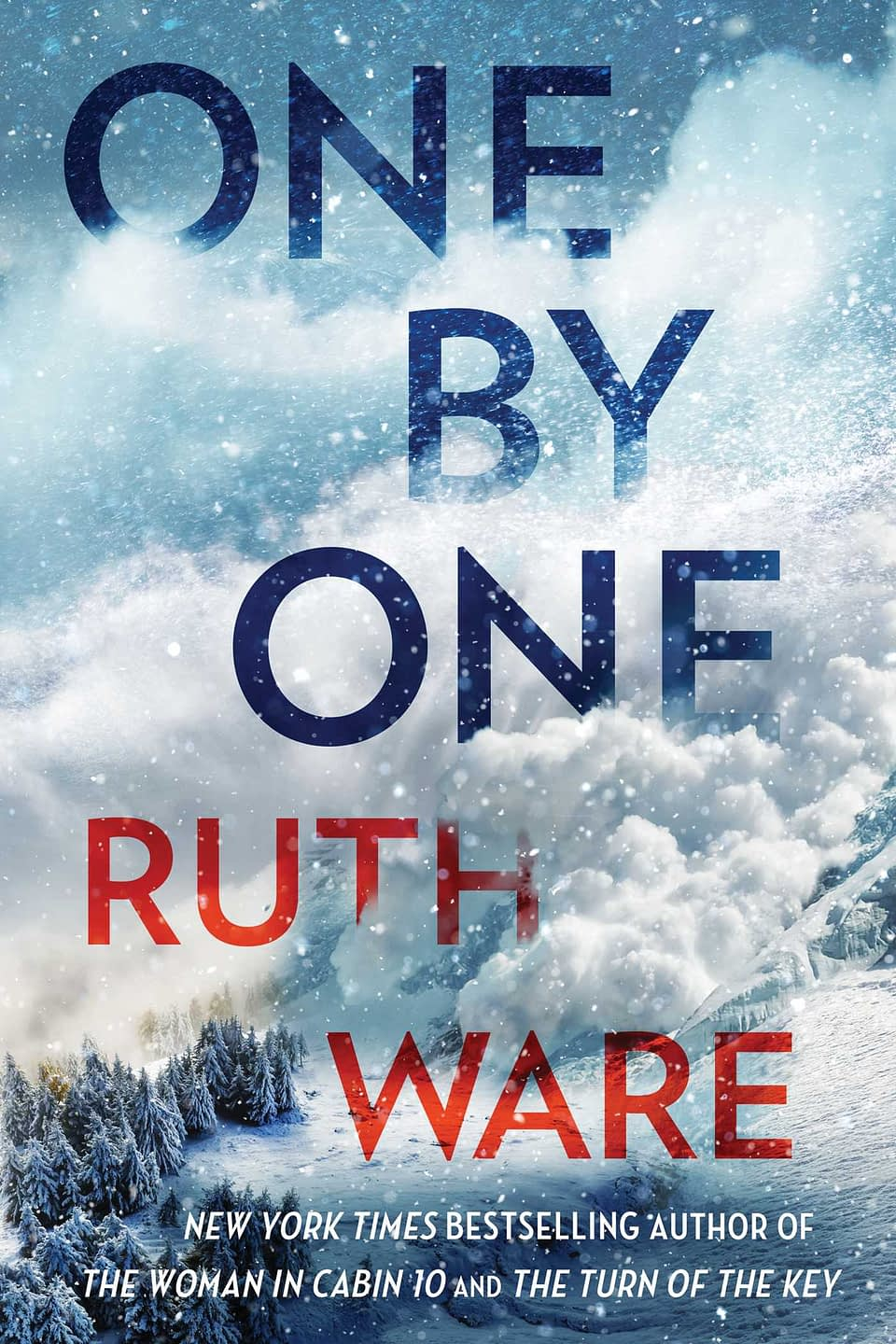 One By One Book Cover by Ruth Ware
