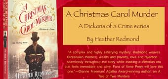 Excerpt & *GIVEAWAY* // A Christmas Carol Murder by Heather Redmond