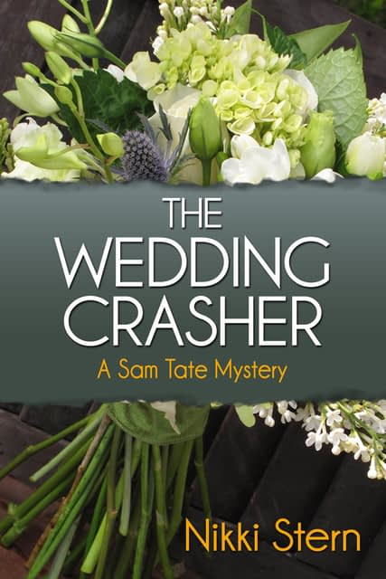 The Wedding Crasher Book Cover by Author Nikki Stern