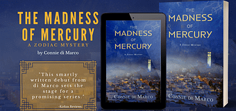 Excerpt & *GIVEAWAY* // The Madness Of Mercury by Connie di Marco