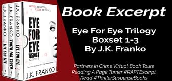 Excerpt // Eye for Eye Trilogy by JK Franko