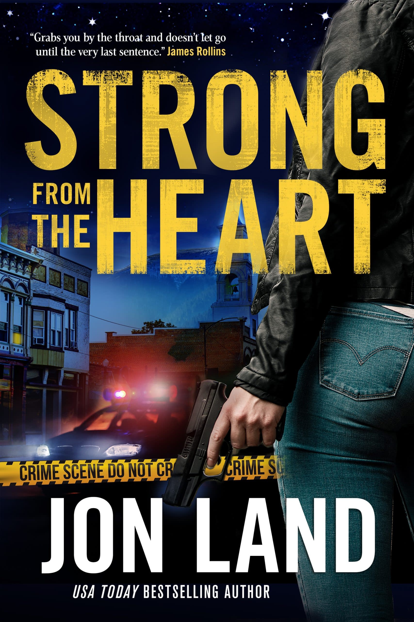 Strong From The Heart Book Cover