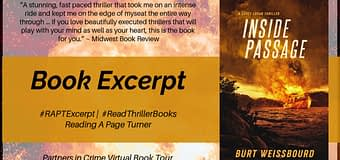 Excerpt & *GIVEAWAY* // Inside Passage by Burt Weissbourd