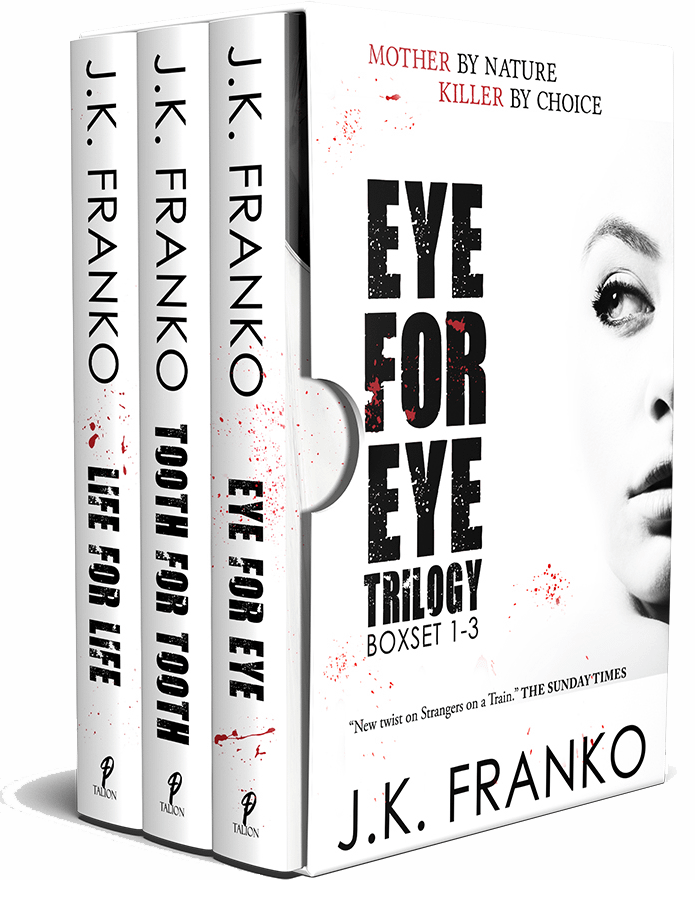 Eye for Eye Trilogy Book Cover