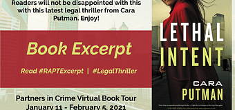 Excerpt & *GIVEAWAY* // Lethal Intent by Cara Putman