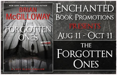 The Forgotten Ones by Brian McGilloway Banner