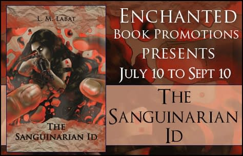 Book Excerpt // The Sanguinarian ID by L.M. Labat