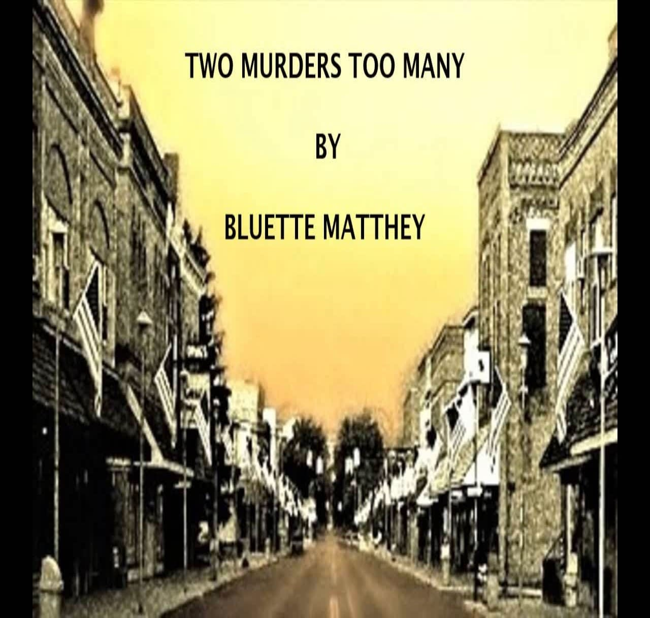 Two Murders Too Many Book Cover