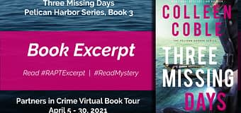 Excerpt & *GIVEAWAY* // Three Missing Days by Colleen Coble