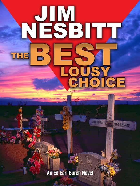 The Best Lousy Choice by Jim Nesbitt Book Cover