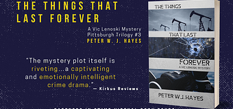 Excerpt & *GIVEAWAY* // The Things That Last Forever by Peter W.J. Hayes