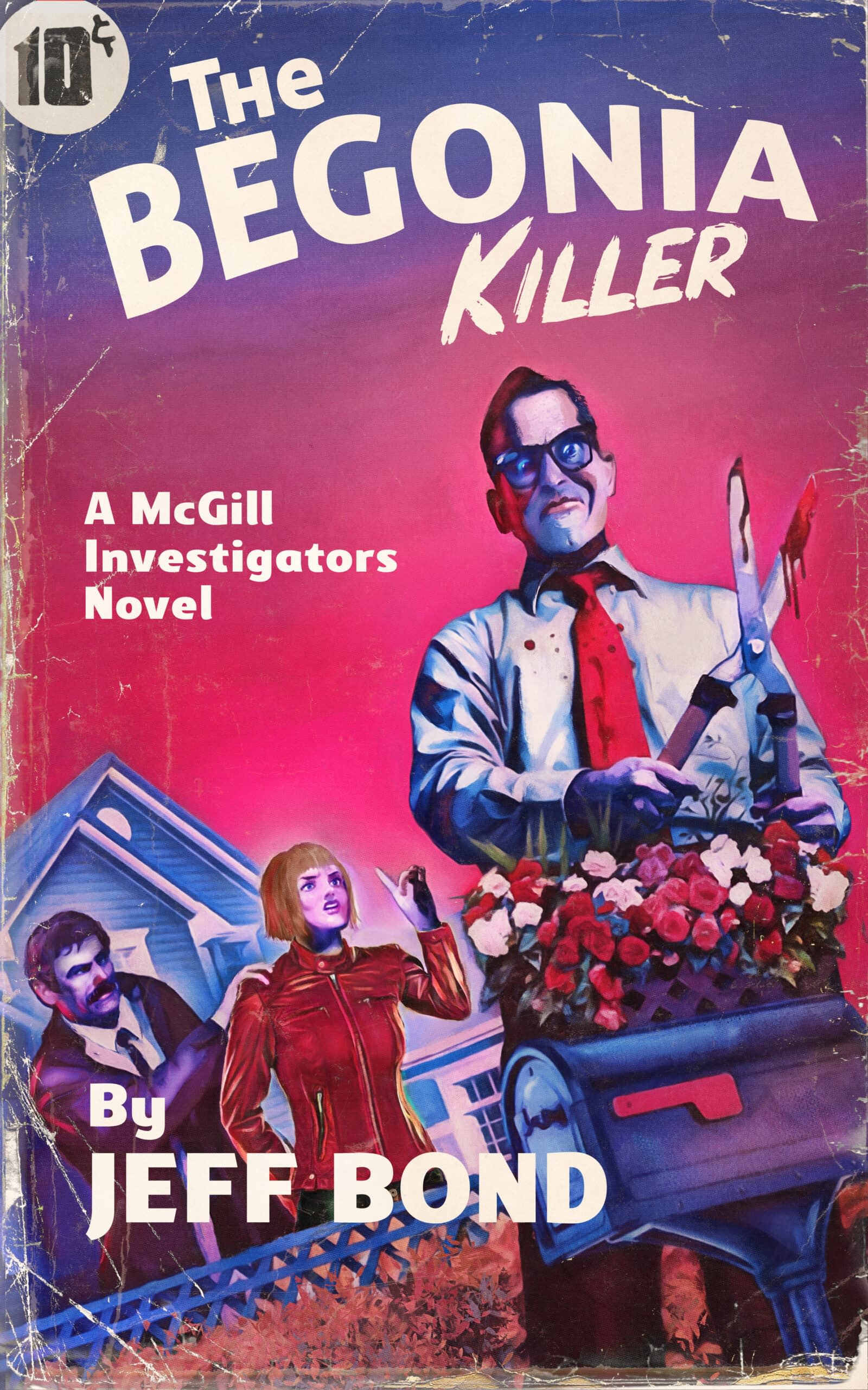 The Begonia Killer Book Cover