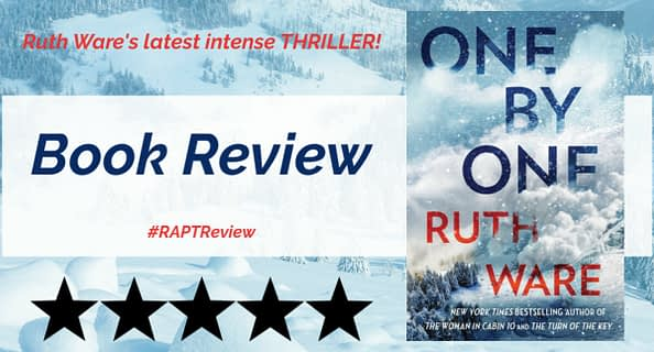 One By One Ruth Ware Book Review Banner