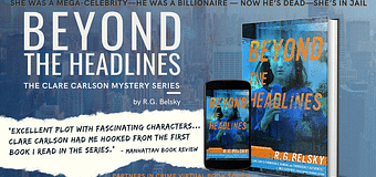 Excerpt & *GIVEAWAY* // Beyond The Headlines by R.G. Belsky