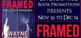 Book Excerpt & GIVEAWAY // Framed by Wayne Kerr