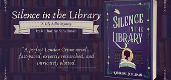 Review & *GIVEAWAY* // Silence in the Library by Katherine Schellman