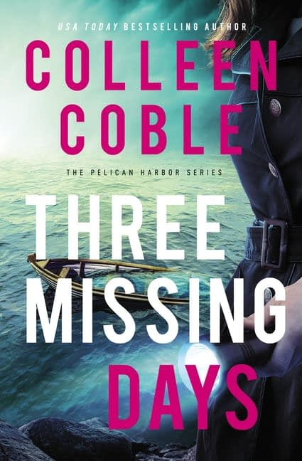 Missing Three Days Book Cover