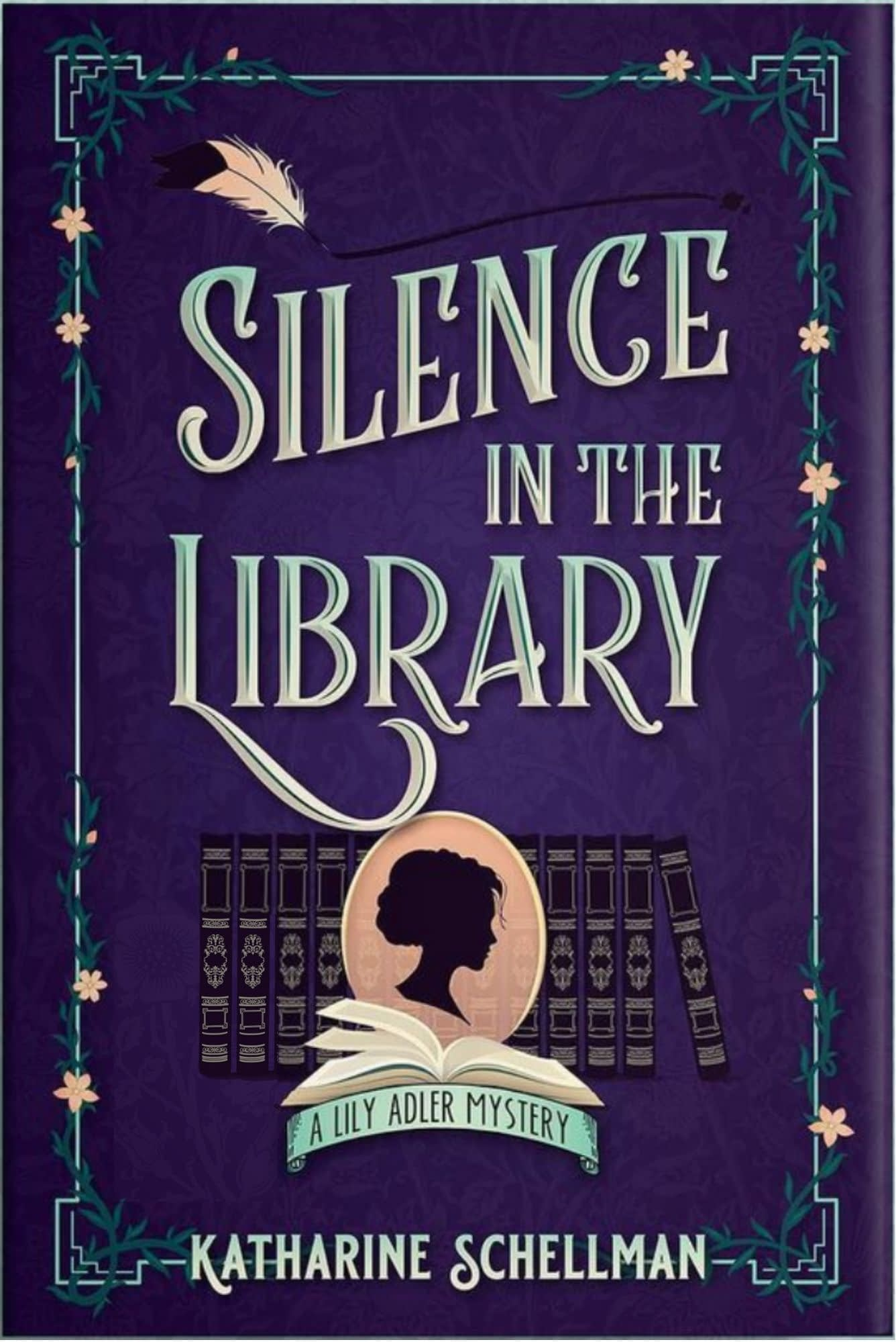 Silence in the Library Book Cover