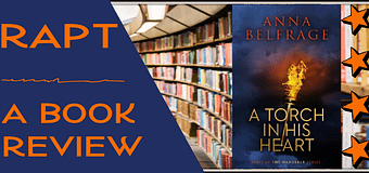 Review // A Torch in His Heart by Anna Belfrage