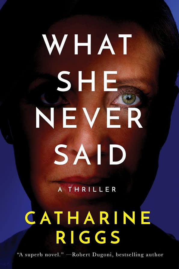 What She Never Said Book Cover