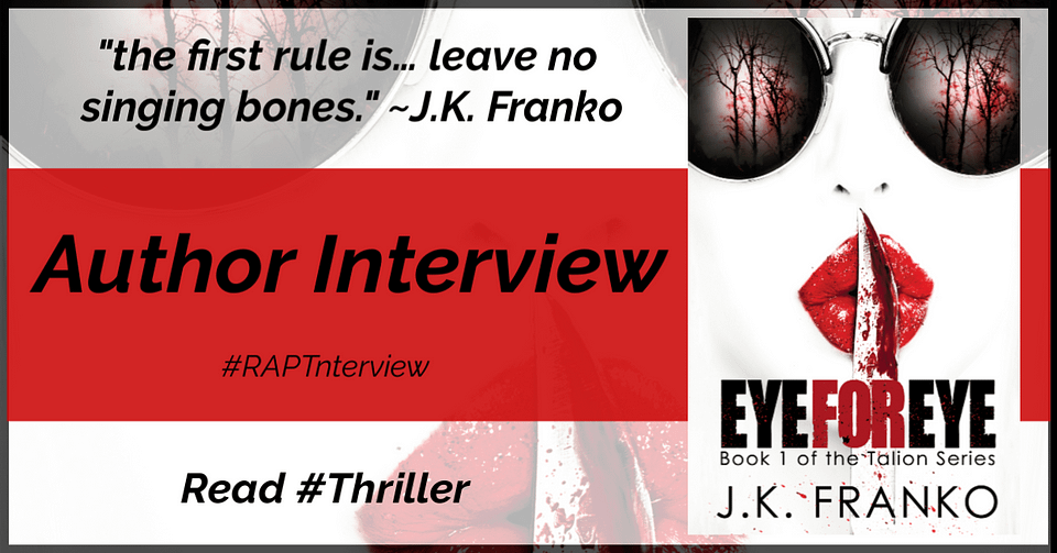 Eye For Eye Author Interview Banner