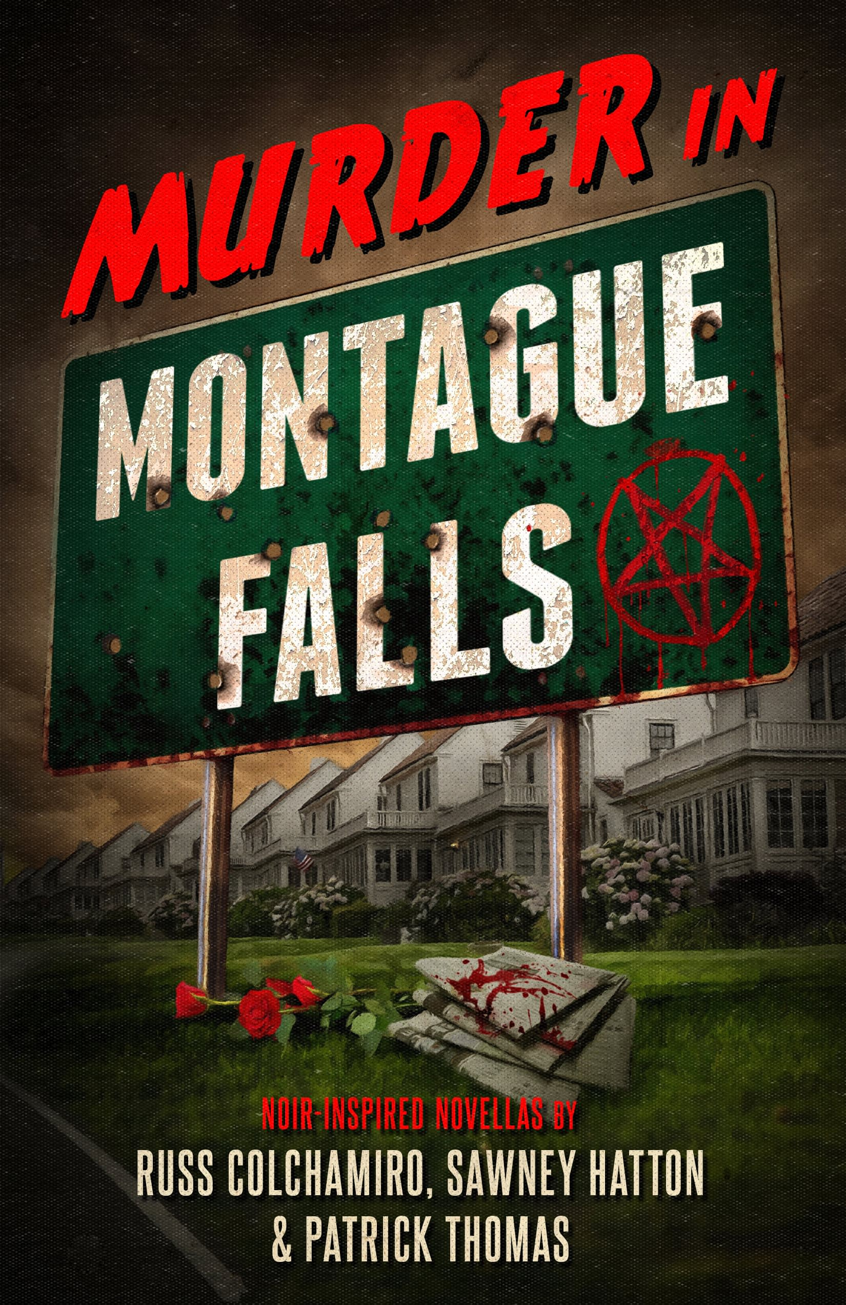 Murder In Montague Falls Book Cover